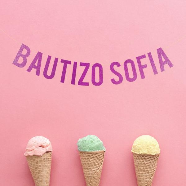 Guirlanda Bautizo